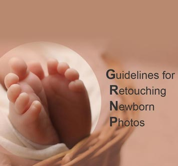 Guidelines for Retouching Newborn Photos