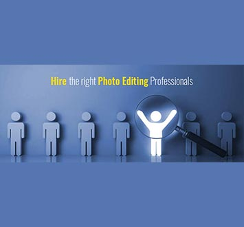 How to hire the right photo editing professionals?